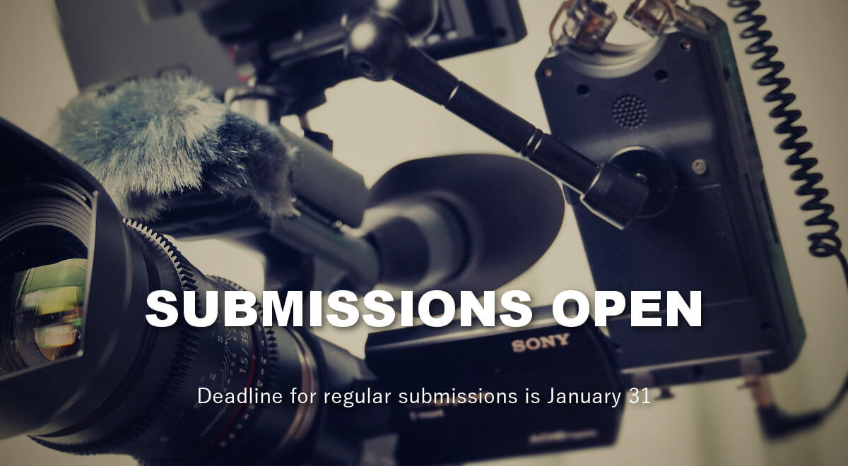 Submissions open. Deadline for regular submissions is January 1.